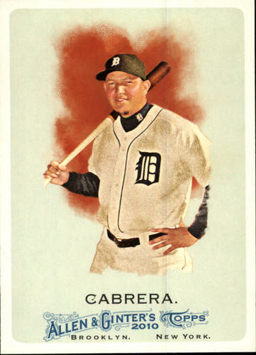 Photo of 2010 Topps Allen and Ginter #139 Miguel Cabrera