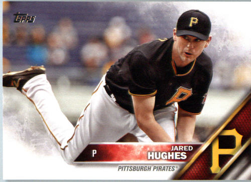 Photo of 2016 Topps #665A Jared Hughes