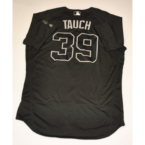 """Photo of Mike """"TAUCH"""" Tauchman New York Yankees Game-Used 2019 Players' Weekend Jersey"""