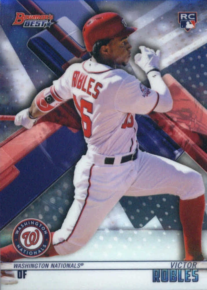2018 Bowman's Best #37 Victor Robles RC