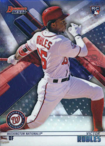 Photo of 2018 Bowman's Best #37 Victor Robles RC