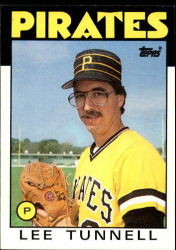 Photo of 1986 Topps #161 Lee Tunnell