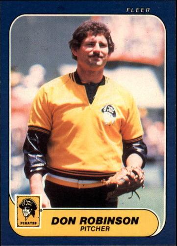 Photo of 1986 Fleer #621 Don Robinson