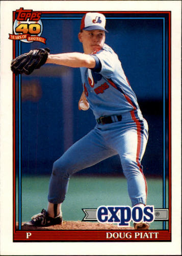 Photo of 1991 Topps Traded #92T Doug Piatt RC