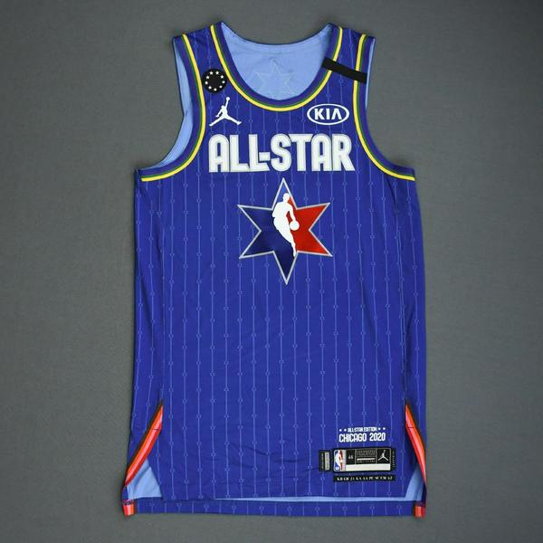 Image of DamianLillard - 2020 NBA All-Star - Game-Issued Jersey Charity Auction - Team LeBron - 1st and 2nd Quarter