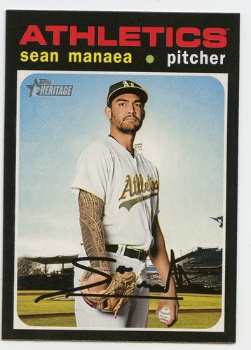 Photo of 2020 Topps Heritage #248 Sean Manaea