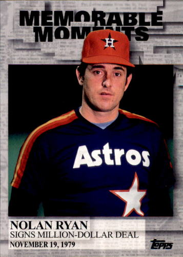 Photo of 2017 Topps Memorable Moments #MM15 Nolan Ryan