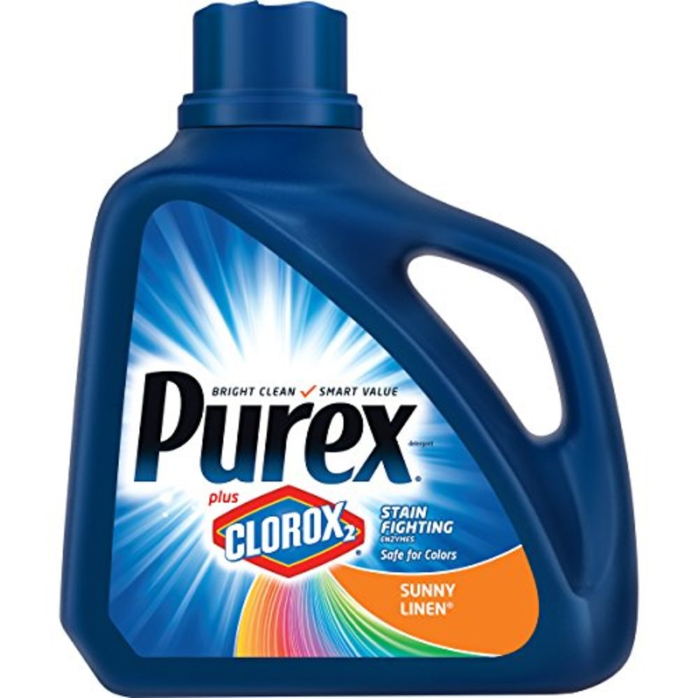 Photo of Purex Liquid Laundry Detergent Plus Clorox2 Stain Fighting Enzymes, Sunny Linen