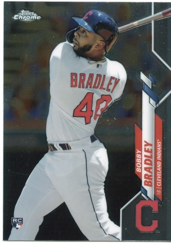 Photo of 2020 Topps Chrome #3 Bobby Bradley RC
