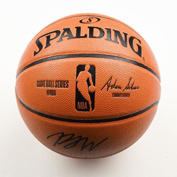 Image of P.J. Washington - Charlotte Hornets - 2019 NBA Draft Class - Autographed Basketball