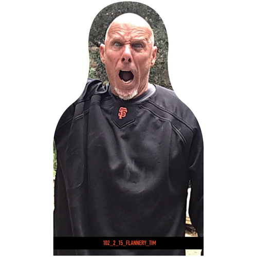 Photo of Giants Community Fund: Giants Tim Flannery Cutout