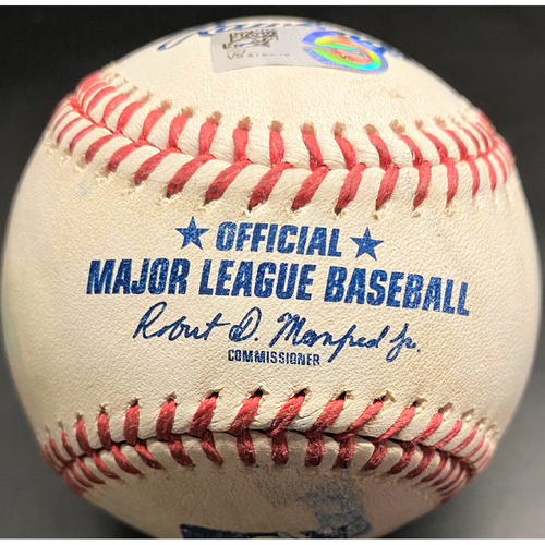 Game-Used Baseball: Miguel Cabrera Detroit Tigers 2-Run Home Run - Milestone (MLB AUTHENTICATED)