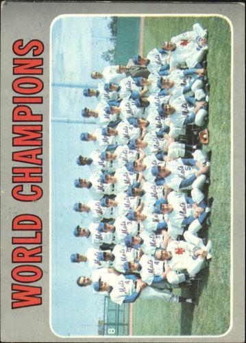 Photo of 1970 Topps #1 New York Mets TC