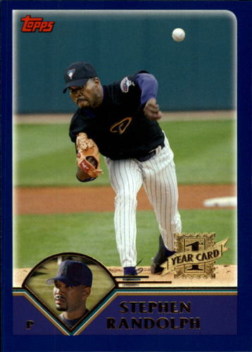 Photo of 2003 Topps Traded #T195 Stephen Randolph FY RC