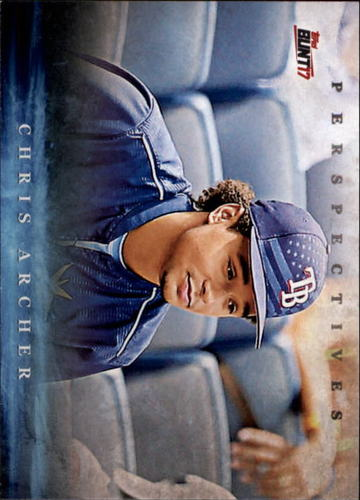 Photo of 2017 Topps Bunt Perspectives #PCA Chris Archer