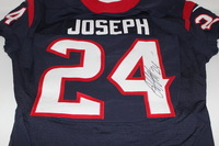 BCA - TEXANS JOHNATHAN JOSEPH GAME WORN AND SIGNED TEXANS JERSEY (OCTOBER 16, 2016)
