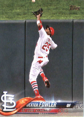 Photo of 2018 Topps #33 Dexter Fowler