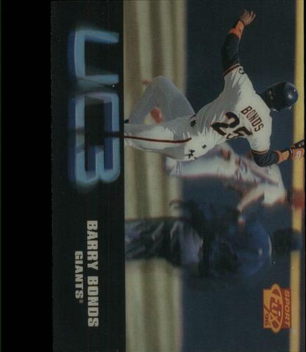 Photo of 1996 Sportflix #112 Barry Bonds UC3