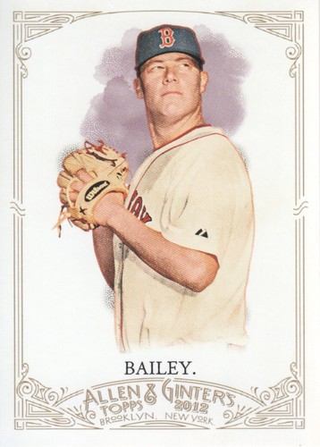 Photo of 2012 Topps Allen and Ginter #241 Andrew Bailey