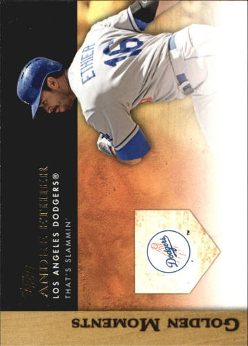 Photo of 2012 Topps Update Golden Moments #GMU16 Andre Ethier