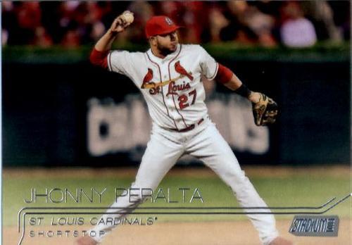 Photo of 2015 Stadium Club #188 Jhonny Peralta