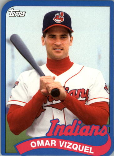 Photo of 2014 Topps '89 Topps Die Cut Minis #TMOV Omar Vizquel UPD