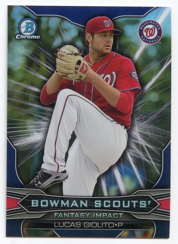 Photo of 2015 Bowman Chrome Draft Scouts Fantasy Impacts #BSILG Lucas Giolito