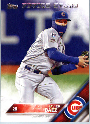 Photo of 2016 Topps #668 Javier Baez FS