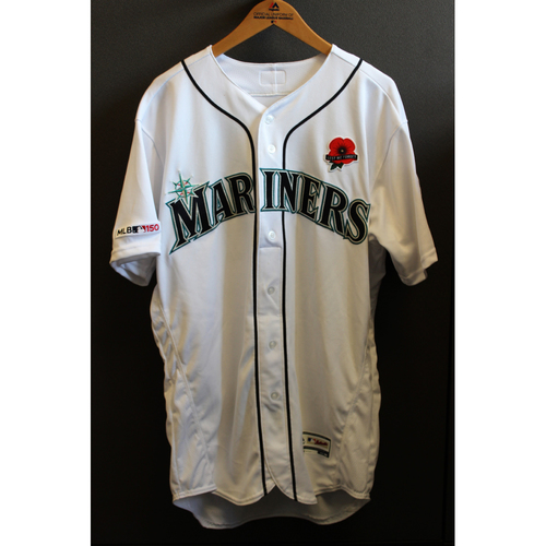 Photo of Mitch Haniger Game-Used Memorial Day Jersey