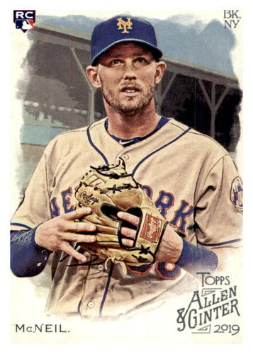 Photo of 2019 Topps Allen and Ginter #203 Jeff McNeil RC