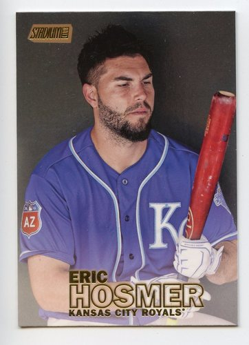 Photo of 2016 Stadium Club Gold #97 Eric Hosmer
