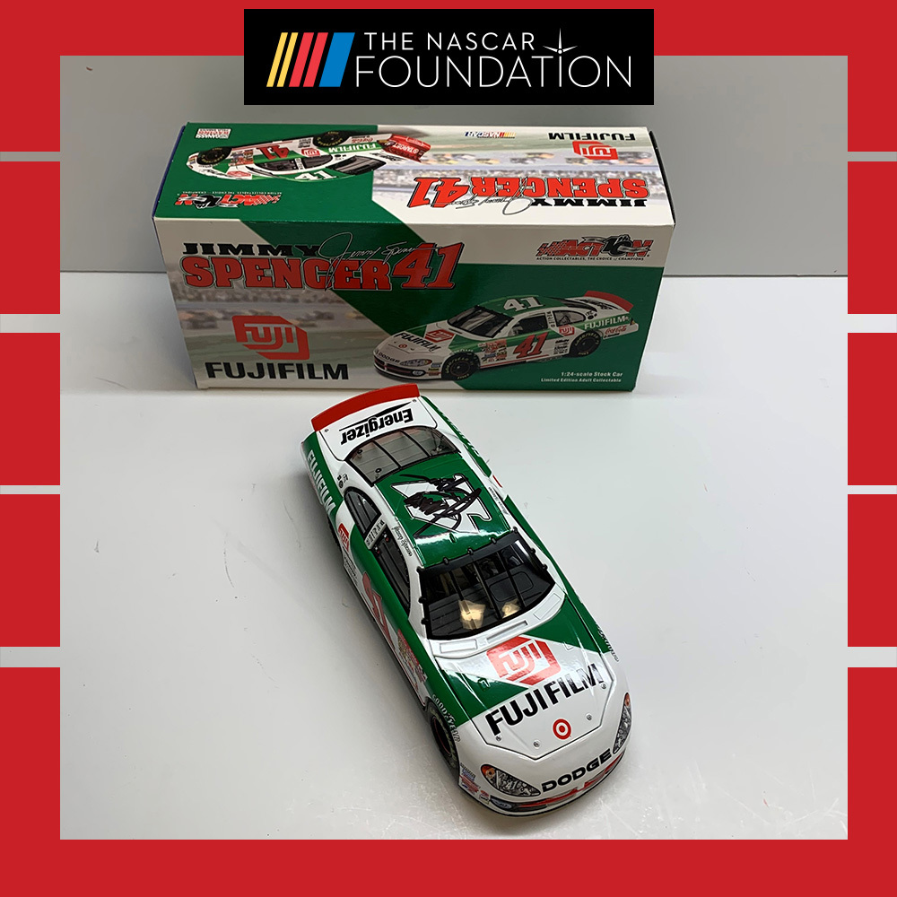 NASCAR's Jimmy Spencer Autographed Diecast!
