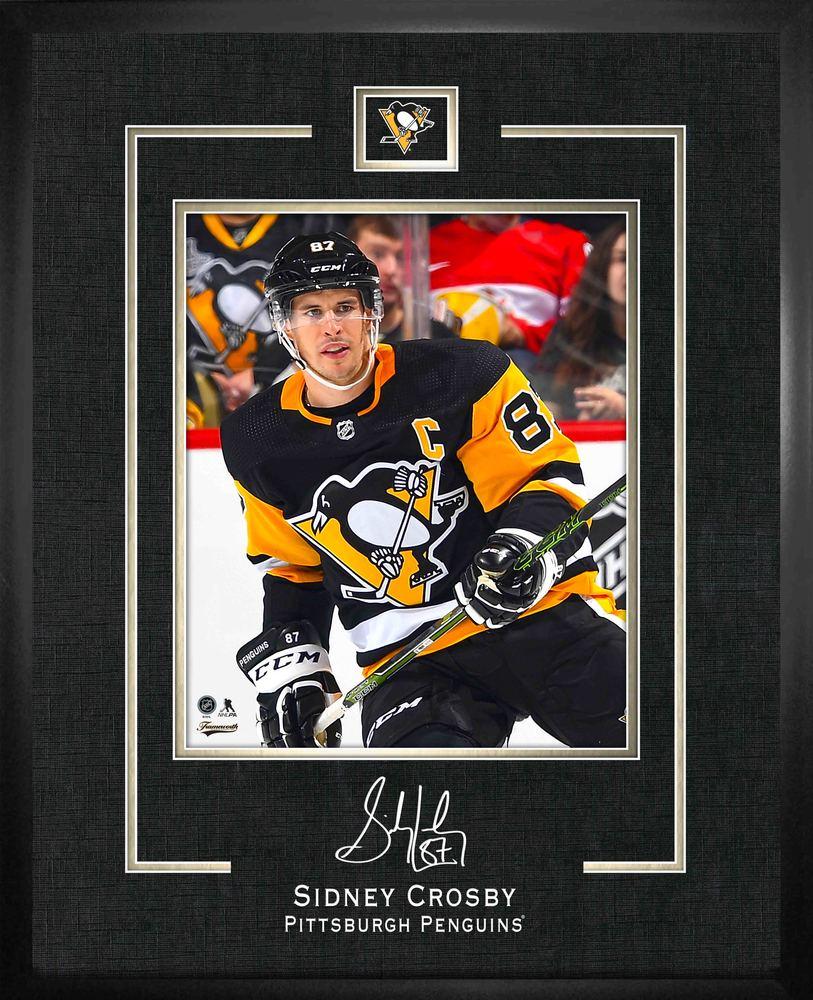 Sidney Crosby 16x20 Replica Signature Frame Penguins 2019