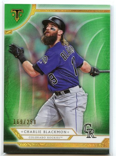 Photo of 2018 Topps Triple Threads Emerald #2 Charlie Blackmon
