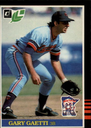 Photo of 1985 Leaf/Donruss #145 Gary Gaetti