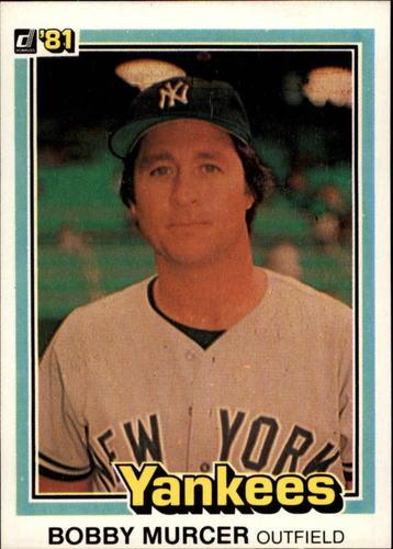 Photo of 1981 Donruss #111 Bobby Murcer
