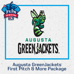 Photo of Augusta GreenJackets First Pitch & More Package