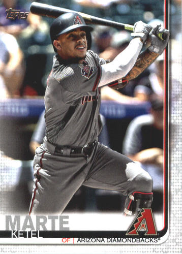 Photo of 2019 Topps #365 Ketel Marte