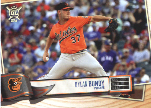 Photo of 2019 Topps Big League #153 Dylan Bundy