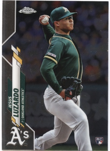 Photo of 2020 Topps Chrome #5 Jesus Luzardo RC