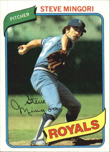 Photo of 1980 Topps #219 Steve Mingori
