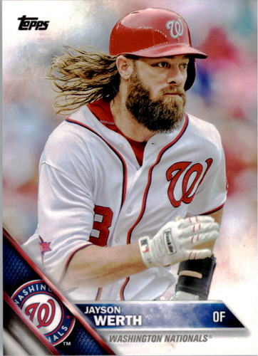 Photo of 2016 Topps #342 Jayson Werth