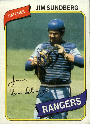 Photo of 1980 Topps #530 Jim Sundberg DP