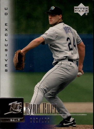 Photo of 2001 Upper Deck Exclusives Silver #69 Ryan Rupe 50/100