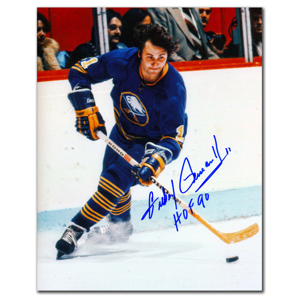 Gilbert Perreault Buffalo Sabres HOF Autographed 8x10