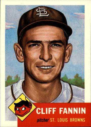Photo of 1991 Topps Archives 1953 #203 Cliff Fannin