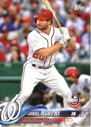 Photo of 2018 Topps Opening Day #111 Daniel Murphy