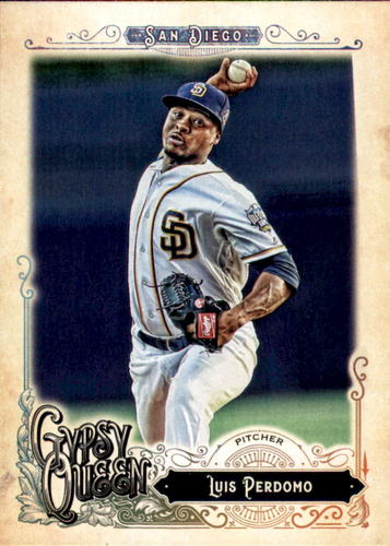 Photo of 2017 Topps Gypsy Queen #197 Luis Perdomo