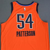 Patrick Patterson - Oklahoma City Thunder - Game-Worn Earned Statement Edition Jersey - 2018-19 Season