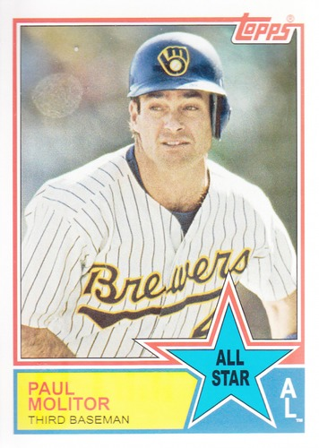 Photo of 2013 Topps Archives 1983 All-Stars #PM Paul Molitor